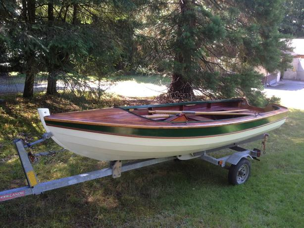 OBO - Clinker Built Sailing/Rowing/Motor Skiff