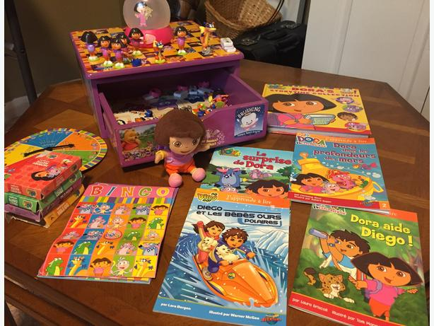 Nickelodeon Dora the Explorer Collection, Board Games & Books