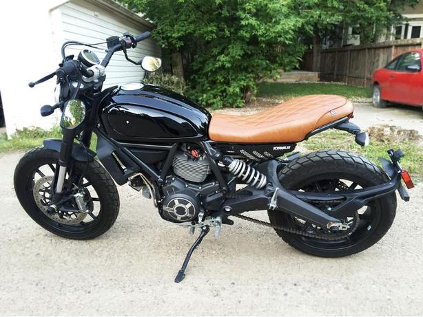 CUSTOM DUCATI SCRAMBLER - 2015 - LIKE NEW - LOW KM