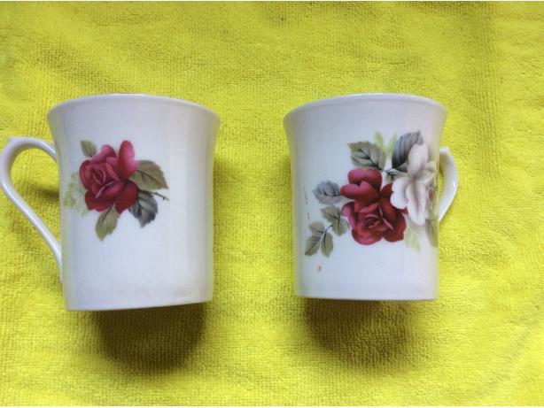 Fine china coffee mugs