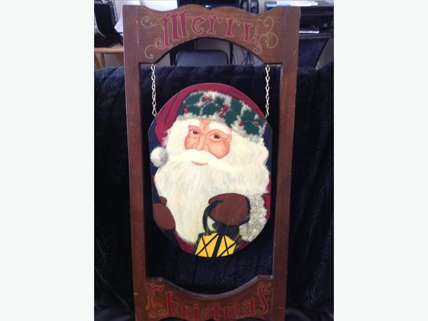 Saint Nick xmas decor