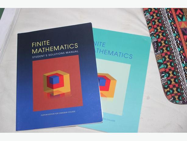 Finite Mathematics - 1st Custom Edition for Camosun