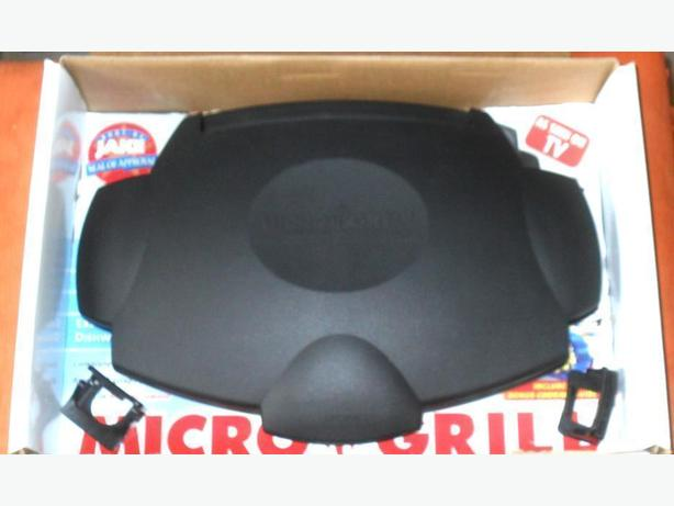 Like-New, Rarely Used Micro-Grill with Cooking Guide