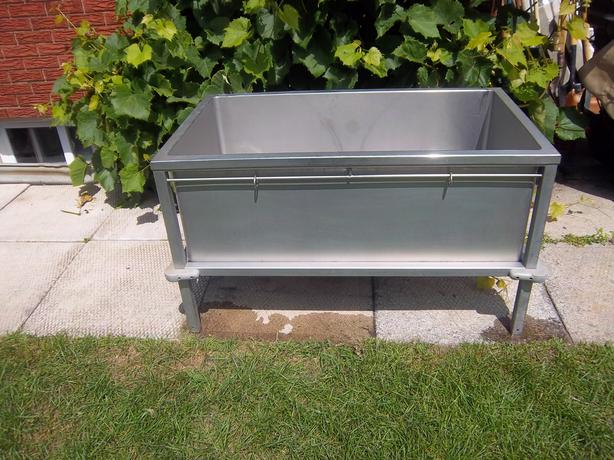 Stainless Dog Grooming Sink Used