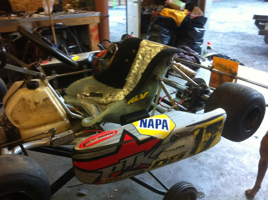 2008 crg honda gx200 kart outside victoria victoria for Go kart montreal exterieur