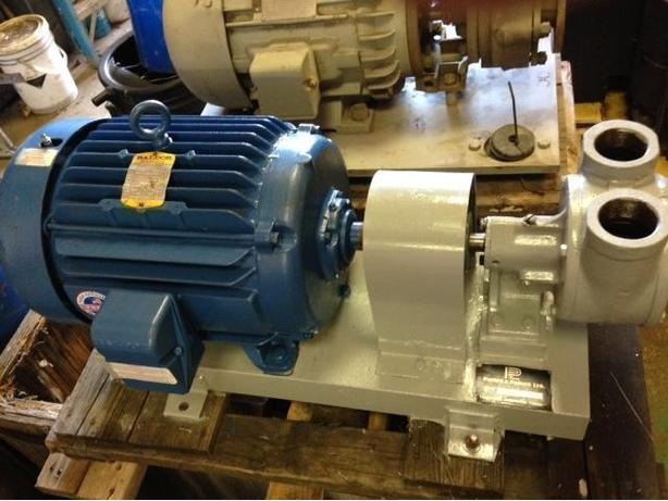 10 Hp BALDOR MOTOR / PUMP TUTHILL MODEL 6C1G-C -