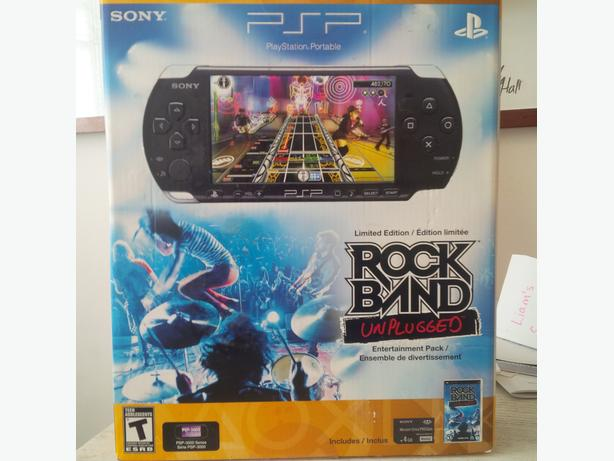 PSP - Limited Edition Rock Band Unplugged Entertainment Pack