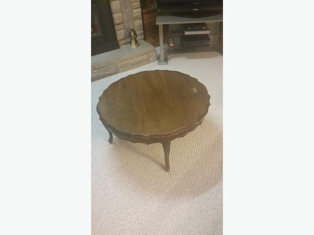 French Round Coffee Table