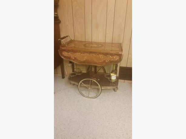 Tea wagon for sale