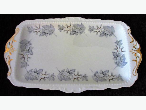 "Royal Albert ""Silver Maple"" Sandwich Tray"