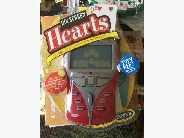 RADICA BIG SCREEN HEARTS Electronic Game RARE
