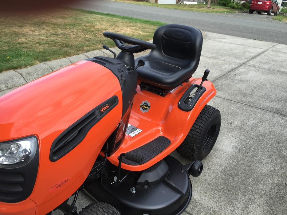Ariens 20 Hp Lawn Tractor : Ariens hp quot riding mower lawn tractor courtenay