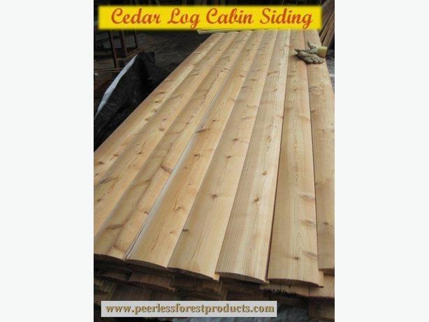 Log Siding and Paneling