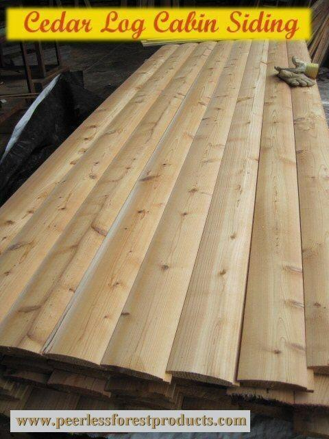 Log Siding And Paneling Outside Victoria Victoria