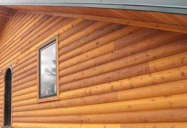 Log Siding And Paneling Outside Nanaimo, Nanaimo