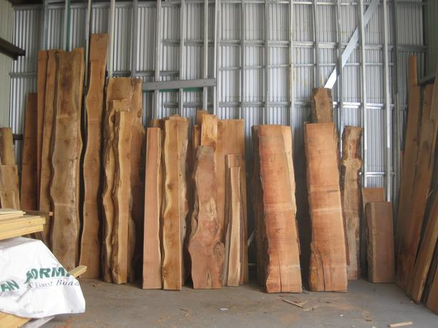 Fir Live Edge Slabs Overstock Sale