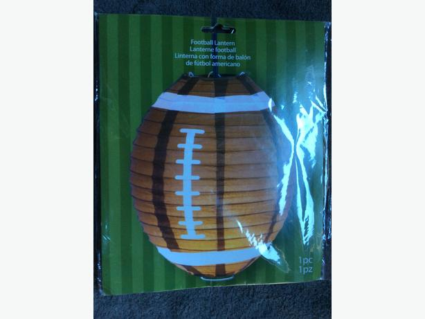 Football paper lantern for sale