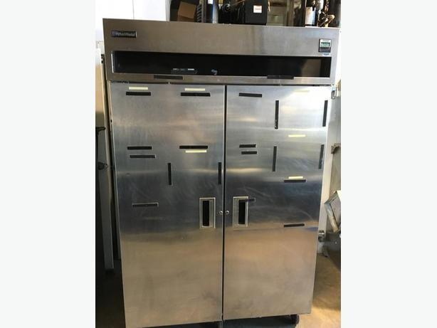 (DELFIELD ) 2 DOOR STAINLESS STEEL COOLER