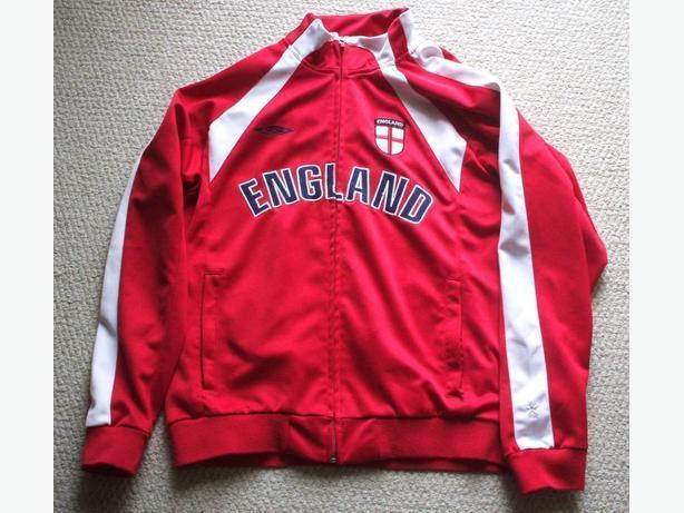 Soccer Jacket `England` by Umbro- sz. Medium