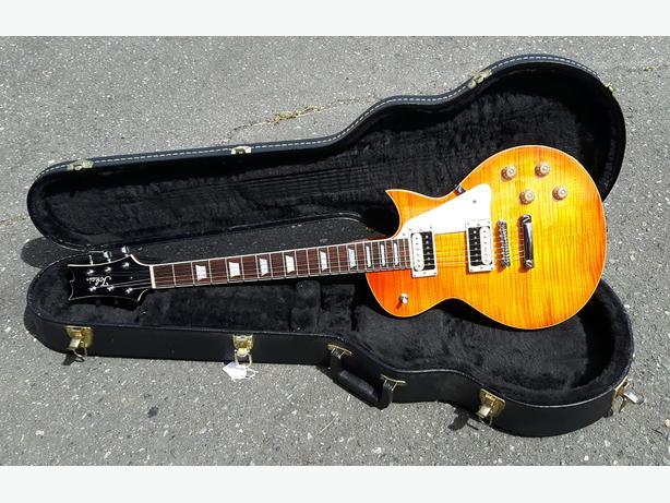 Tokai Love Rock '59 Gibson Les Paul Guitar w/ Hardshell Case