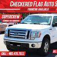 2012 FORD F-150 XLT 4X4-SUPERCREW-ECOBOOST-HANDS FREE-LIKE NEW!