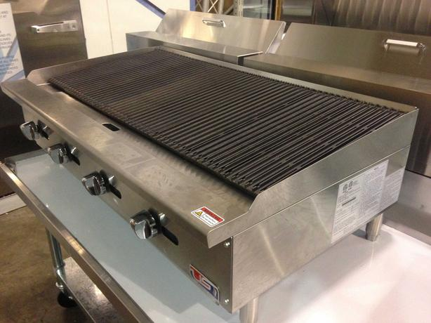 "US Cooking 48"" Radiant Charbroiler"