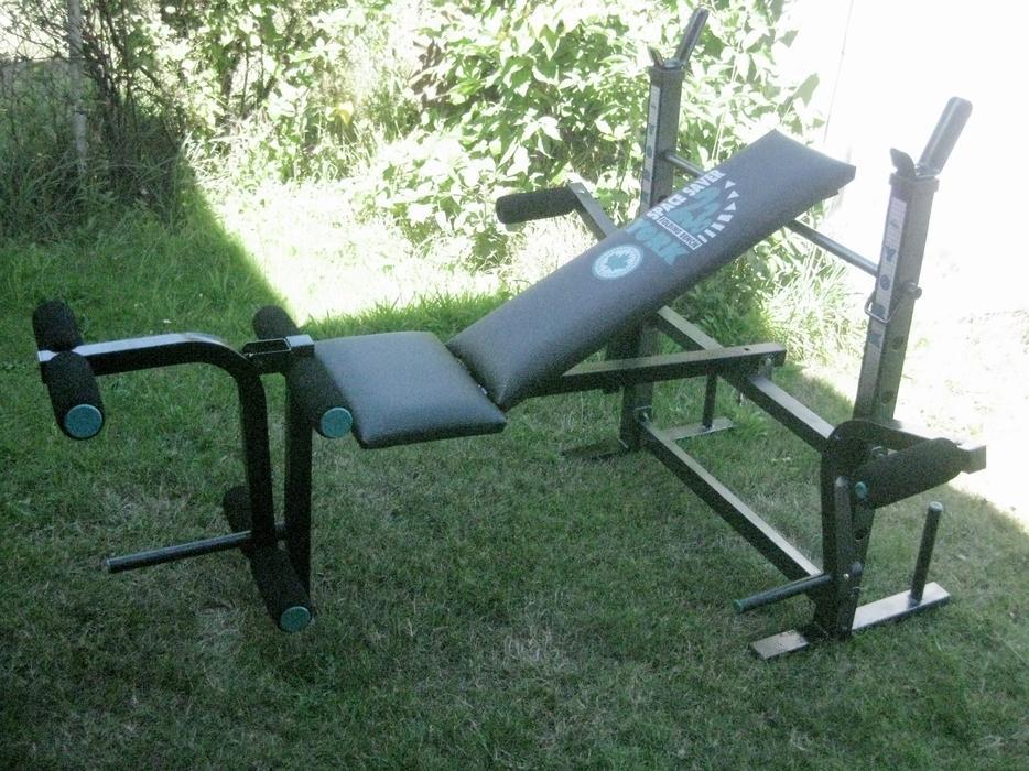 Space saving weight bench images york hg