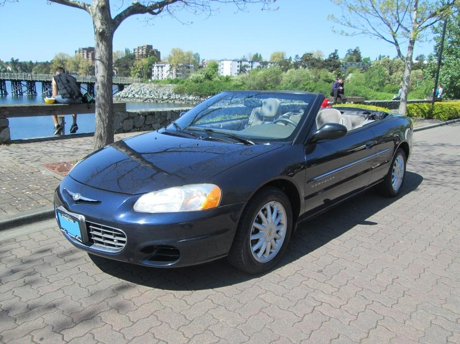 2001 Chrysler Sebring Lx Convertible On Sale Victoria