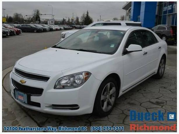 2012 Chevrolet Malibu 1LT- Awesome Value - Accident FREE and LOCAL Car