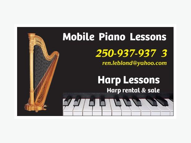 Affordable Music Teacher, Piano and Harp lessons