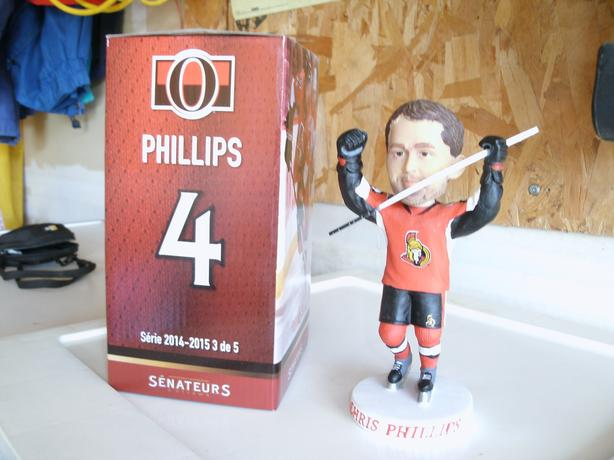Chris Philips bobbleheads - now only $15 each