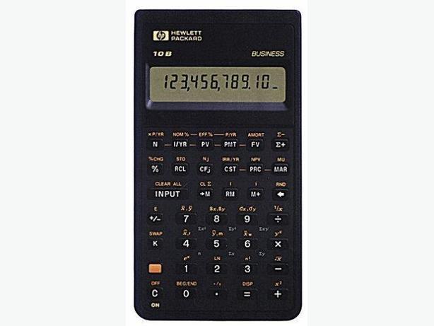 **New Price**Hewlett Packard 10B Financial Calculator