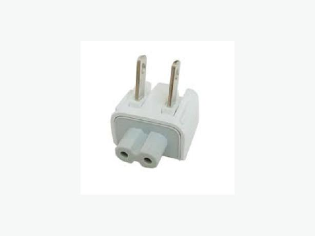 Snap-On Plug Adaptive to Apple Macbook Power Adapter Body