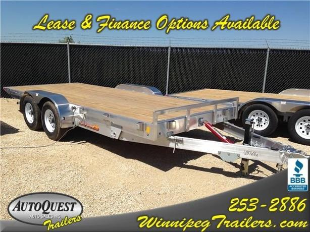 2017 RC Trailers Smoothloader 8.5 x 18 TA3 XM  Aluminum Trailer - 9900K