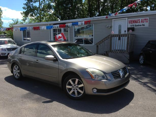 2004 Nissan Maxima 3 5sl Safety Included Central Ottawa