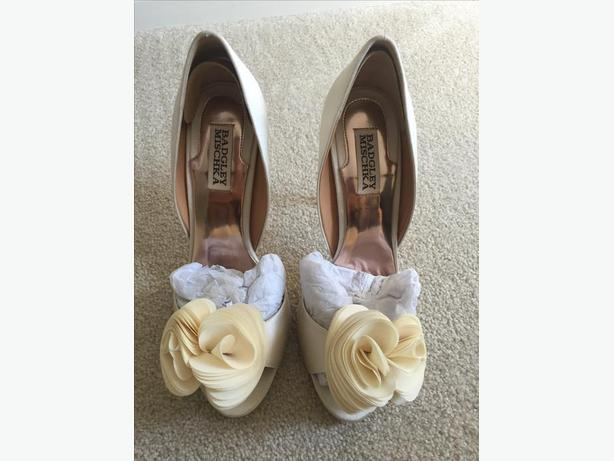Badgley Mischa Blossom Wedding Shoe