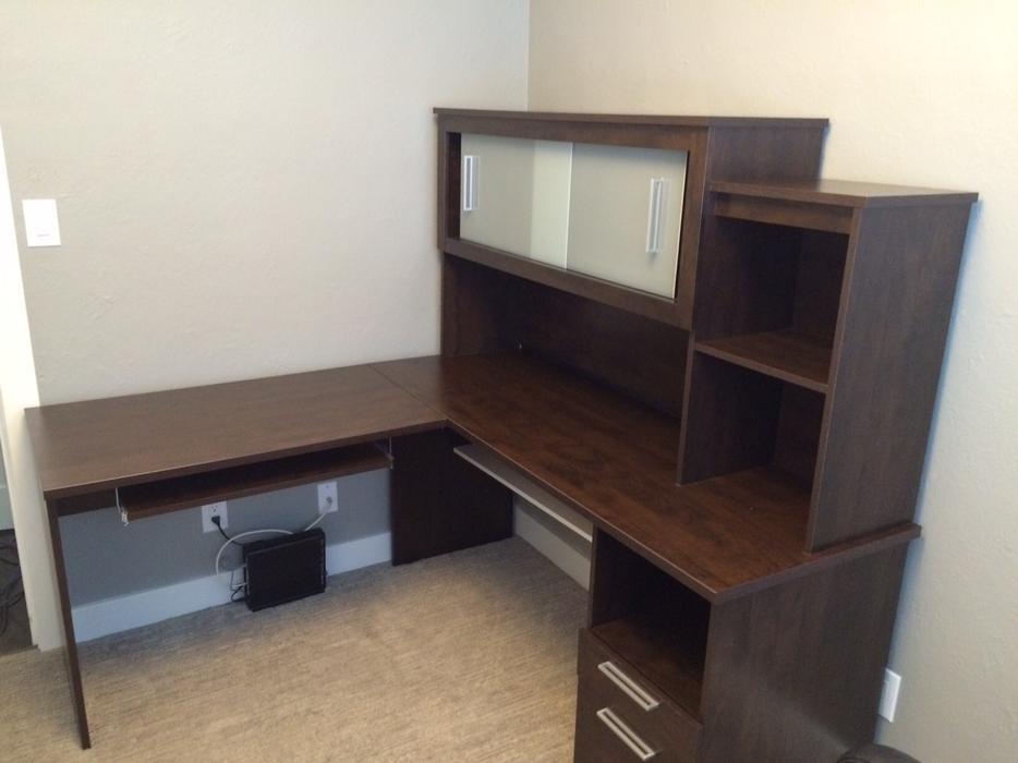 Great condition costco office desk saanich victoria - Costco office desk ...
