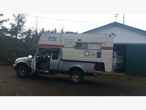 1980ish 8 ft truck camper