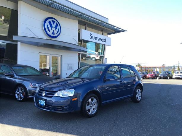 2009 Volkswagen Golf City 2 0l Courtenay Comox Valley