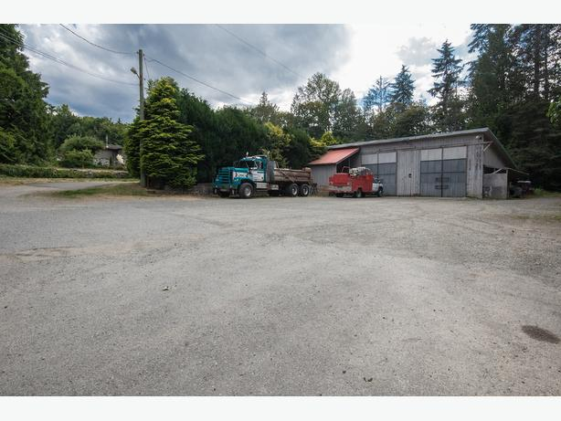 2350 Sq Ft Shop on 0.36 Acre in The Heart of Mill Bay