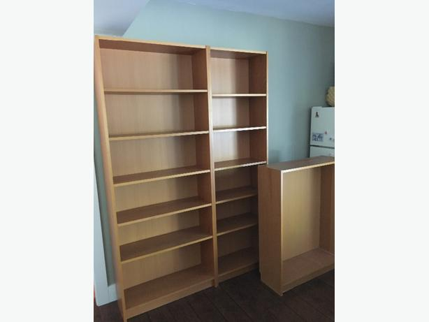 3 ikea billy bookcases mill bay cowichan mobile - Mobile billy ikea ...