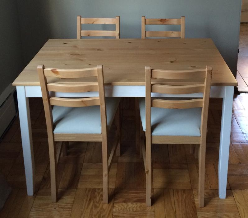 Ikea Lerhamn Table W 4 Chairs Toronto City Markham
