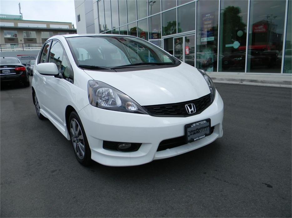 2014 Honda Fit Sport No Accidents Local B C One Owner