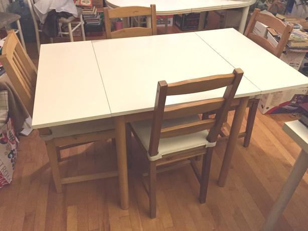 Ikea bed Dining Table Set with 4 Chairs Bedroom Lamps  : 54317382614 from www.usedottawa.com size 614 x 460 jpeg 32kB