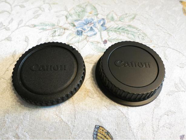 Canon EF / EF-S body cap and lens end cap
