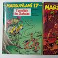 4 livres de Bande dessinée (cartonné)/ 4 French comic books