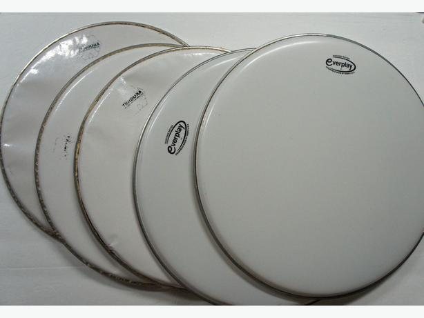 "14"" Tendura Premier Snare Drum Head+15"" Everplay Marching Batter"