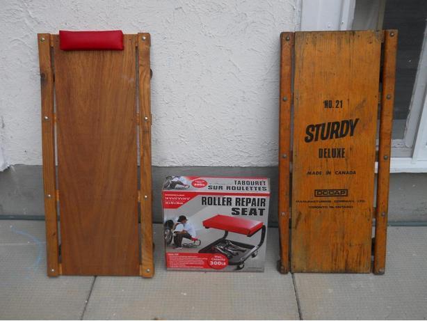 Rolling Mechanic Seat
