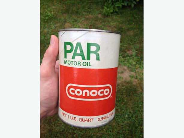 Vintage Conoco Motor Oil 1 U S Quart Can Summerside Pei