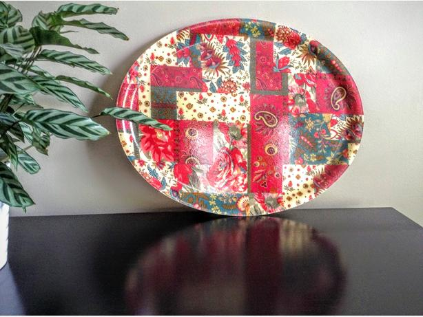 Vintage Oval 'Mikasa' Serving Tray